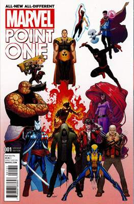 All-New, All-Different Marvel Point One (Variant Cover) #1.2