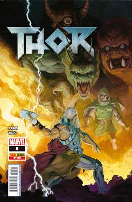 Thor / El Poderoso Thor / Thor - Dios del Trueno / Thor - Diosa del Trueno / El Indigno Thor (2011-) (Grapa) #93/5