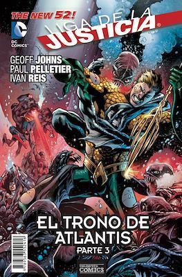 Liga de la Justicia. El trono de Atlantis #3