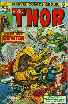 Journey into Mystery / Thor Vol 1 (Comic Book) #242