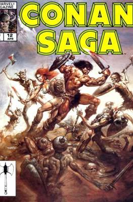 Conan Saga (Comic-book) #12