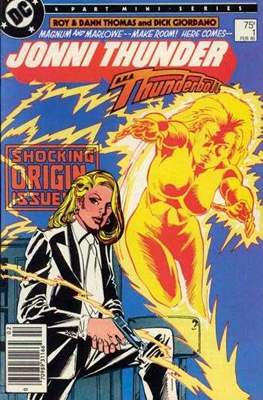 Jonni Thunder (Comic Book) #1