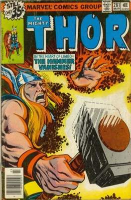 Journey into Mystery / Thor Vol 1 (Comic Book) #281
