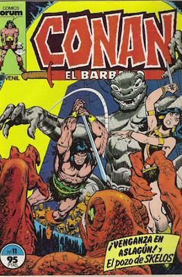Conan el Bárbaro (1983-1994) (Grapa. 19x27. 36/32/24 páginas. Color.) #11