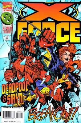 X-Force Vol. 1 (1991-2002) (Comic Book) #47