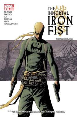 The Immortal Iron Fist (2007-2009) (Digital) #3