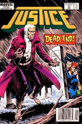 Justice. New Universe (1986) (Grapa.) #27