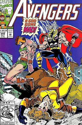The Avengers Vol. 1 (1963-1996) (Grapa) #349