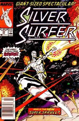 Silver Surfer Vol. 3 (1987-1998) #25