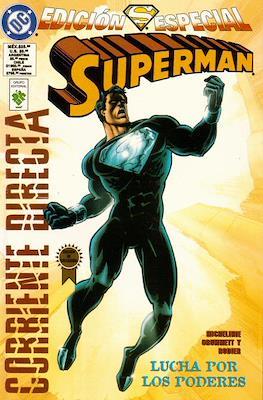 Superman. Lucha por los poderes