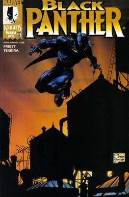 Black Panther (1998-2003 Variant Cover)
