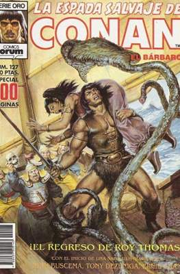 La Espada Salvaje de Conan. Vol 1 (1982-1996) (Grapa. B/N.) #127