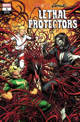 Absolute Carnage: Lethal Protectors (Variant Cover) #1.1