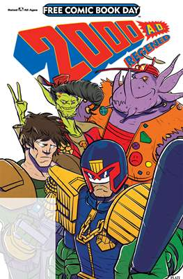 2000 A.D. Regened - Free Comic Book Day 2018