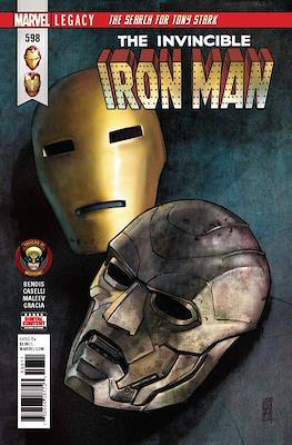 Invincible Iron Man Vol. 4 (Comic Book) #598