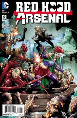 Red Hood / Arsenal (2015-2016) (Comic Book) #9