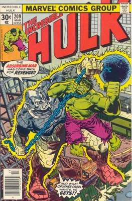 The Incredible Hulk Vol. 1 (1962-1999) (Comic Book) #209