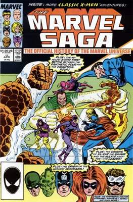 Marvel Saga (Comic-book.) #17