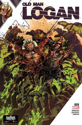 Old Man Logan Vol. 2 (Comic-book) #28