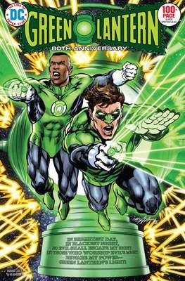 Green Lantern 80th Anniversary 100-Page Super Spectacular #1 (Variant Cover) (Softcover 100 pp) #1.3
