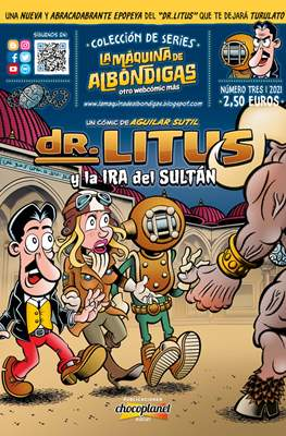 Colección de Series La máquina de albóndigas (COLECCIÓN DE SERIES I La Máquina de Albóndigas I DR. LITUS y el ENIGMA del ERMITAÑO I N1) #3