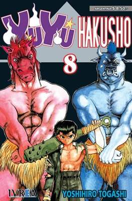 Yu Yu Hakusho (Rústica) #8