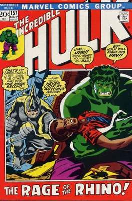 The Incredible Hulk Vol. 1 (1962-1999) #157