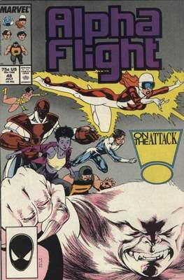 Alpha Flight Vol. 1 (1983-1994) (Comic Book) #48