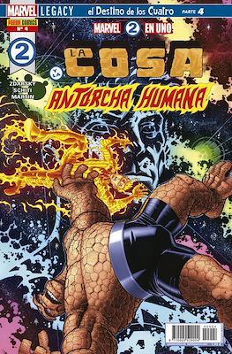 Marvel 2 en Uno: La Cosa y La Antorcha Humana #4