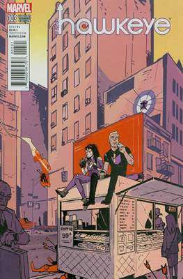 All New Hawkeye Vol.1 (2015- Variant Covers) #3.1
