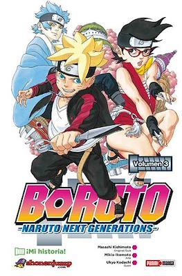 Boruto: Naruto Next Generations (Rústica con sobrecubierta) #3