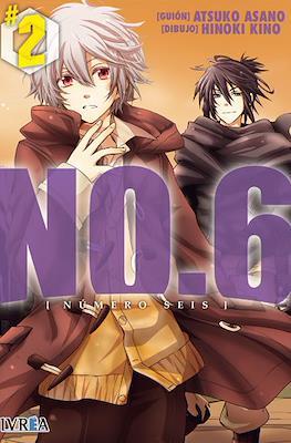 NO.6 - [Número Seis] (Rústica con sobrecubierta) #2