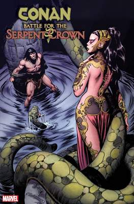 Conan: Battle for the Serpent Crown (Variant Cover)