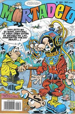 Mortadelo (1987-1991) (Grapa) #180