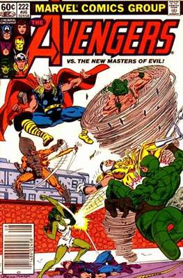The Avengers Vol. 1 (1963-1996) (Comic Book) #222