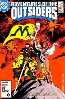 Batman and the Outsiders (1983-1987) (Comic Book) #33