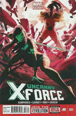 Uncanny X-Force Vol. 2 (Comic Book) #3