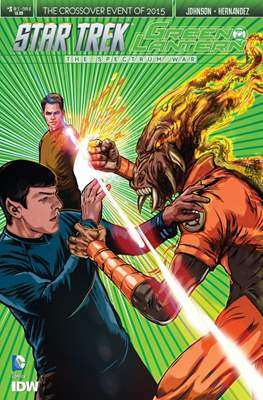 Star Trek Green Lantern (Comic Book) #3