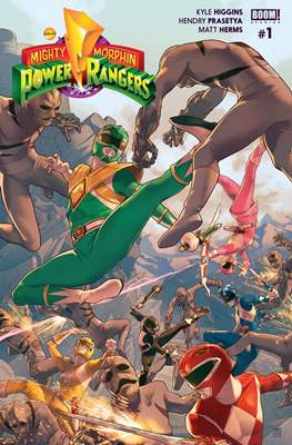Mighty Morphin Power Rangers (Comic Book) #1