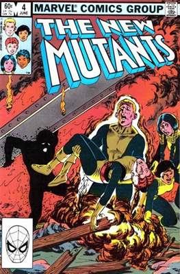 The New Mutants (Grapa) #4