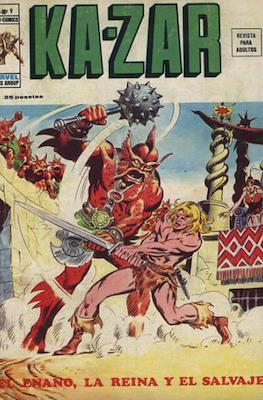 Ka-Zar (1974-1977) (Rústica 40 pp) #9