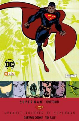 Grandes Autores de Superman: Darwyn Cooke y Tim Sale. Kryptonita
