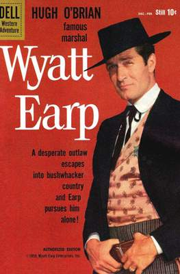 Hugh O'Brian Famous Marshal Wyatt Earp (Comic Book) #9