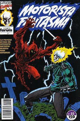 Motorista Fantasma (1991-1994) (Grapa. 17x26. 24 páginas. Color. (1991-1994).) #32