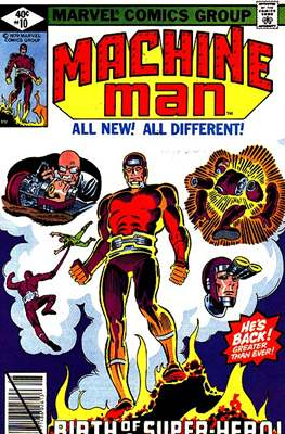 Machine Man Vol. 1 (Comic Book) #10