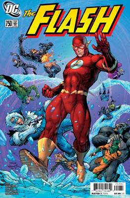 The Flash Vol. 5 (2016- Variant Cover) (Comic Book) #750.1