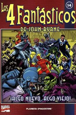 Coleccionable Los 4 Fantásticos de John Byrne (2002) (Rústica, 80 páginas (2002)) #14