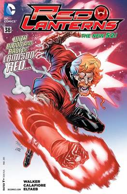 Red Lanterns (2011 - 2015) New 52 #38