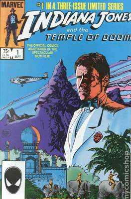 Indiana Jones and the Temple of Doom (Comic Book) #1