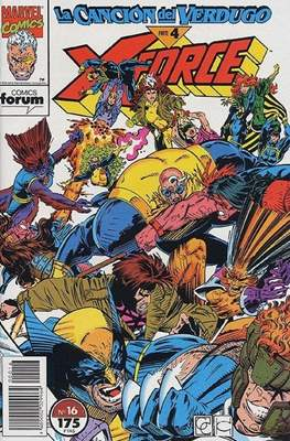 X-Force Vol. 1 (1992-1995) (Grapa 24-32 pp) #16